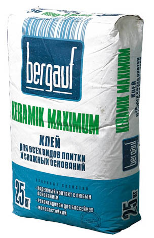 Клей BERGAUF Maximum / БЕРГАУФ Максимум (25 кг)