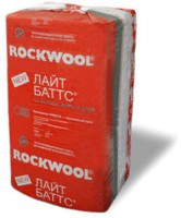 Утеплитель ROCKWOOL LIGHT BATTS / РОКВУЛ ЛАЙТ БАТТС (1000x600x50 мм / 6 м2 / 0.3 м3)