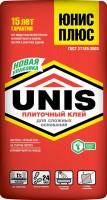 Клей плиточный UNIS PLUS / ЮНИС ПЛЮС (25 кг)