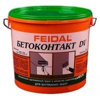 Адгезионный грунт бетоноконтакт FEIDAL BETOKONTAKT DV / ФАЙДАЛЬ БЕТОКОНТАКТ для внутренних работ (20 кг)