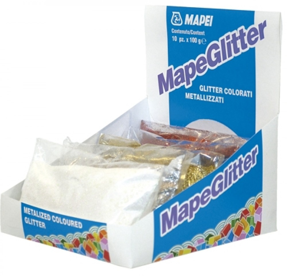 Добавка к затирке Mapei MapeGlitter medium blue / Мапеи МапеГлиттер 219 бирюза (100 г)