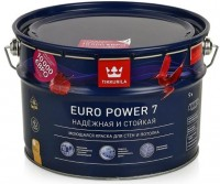 Краска водно-дисперсионная Tikkurila Euro Power 7 / Тиккурила Евро 7 (2.7 л)